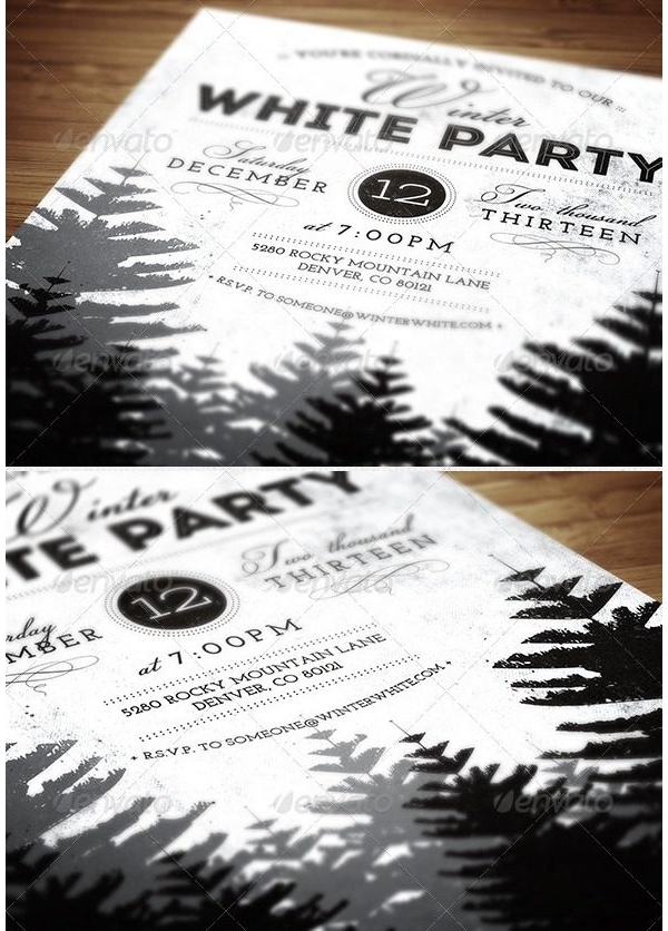 Christmas Party Invitation 13