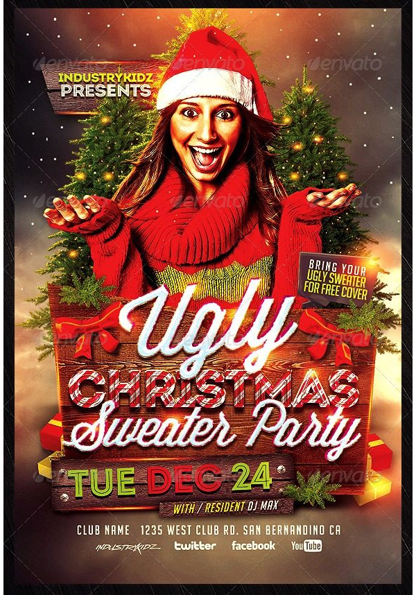 Christmas Party Invitation 14