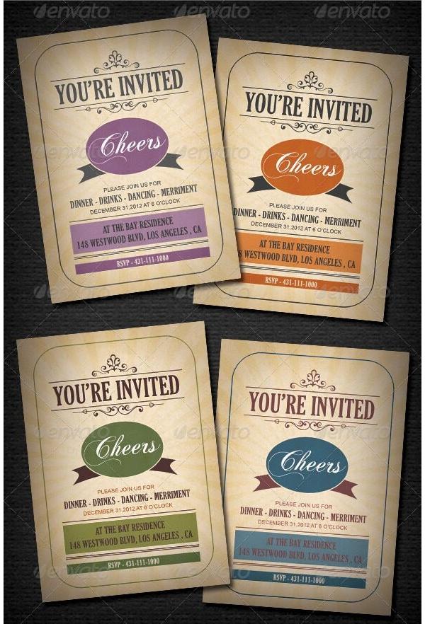 Christmas Party Invitation 19