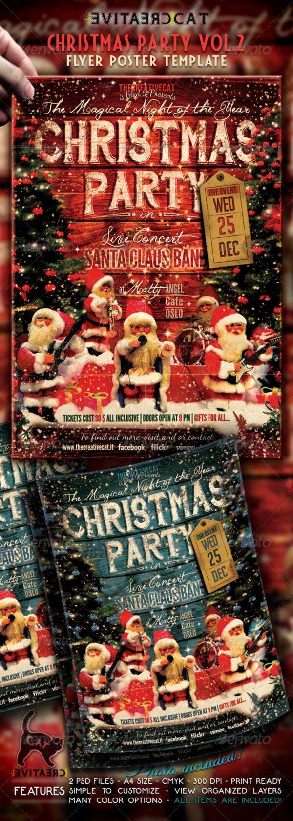 Christmas Party Invitation 02