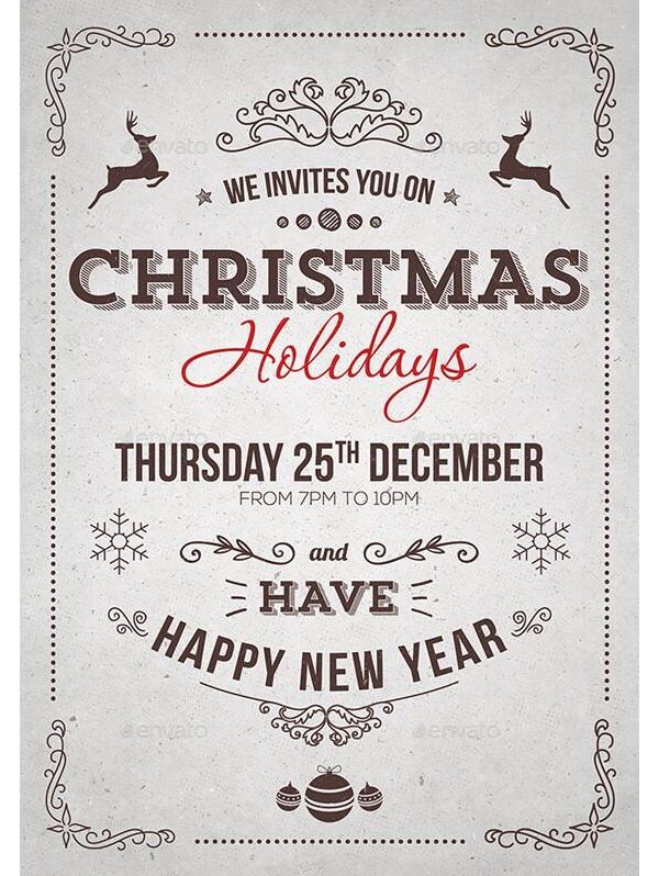 Christmas Party Invitation 20