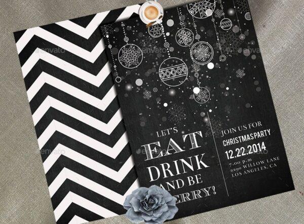 Christmas Party Invitation 03
