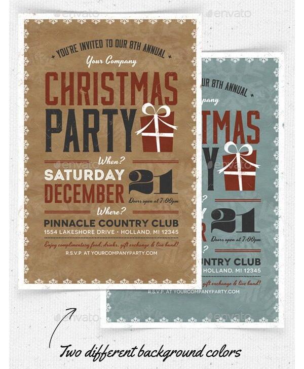 Christmas Party Invitation 06