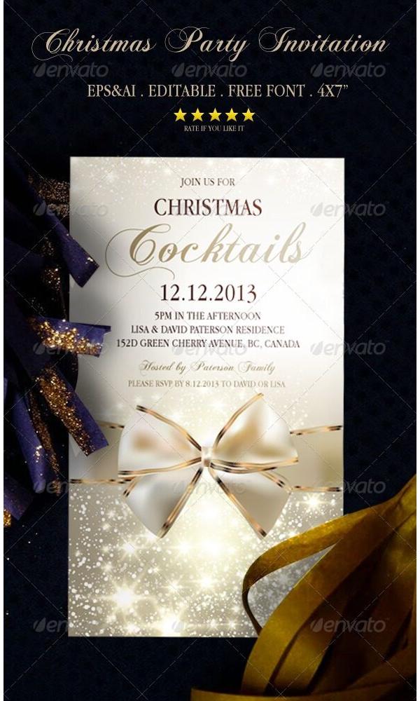 Christmas Party Invitation 07