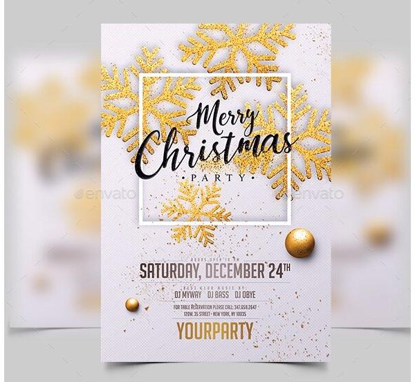 Christmas Party Invitation 08
