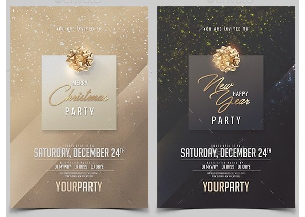 Christmas Party Invitation 09