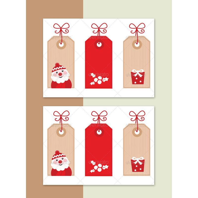 Christmas Gift Tag Template 17
