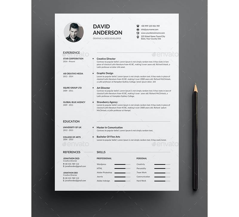 CV for Hospitality Administration Jobs 11