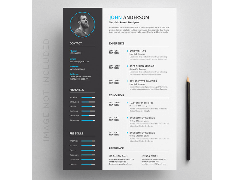 CV Template for Educational Jobs 11