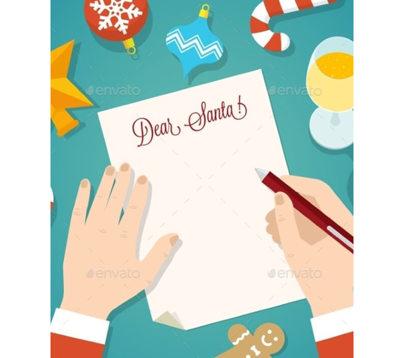 Letter to Santa Template 21