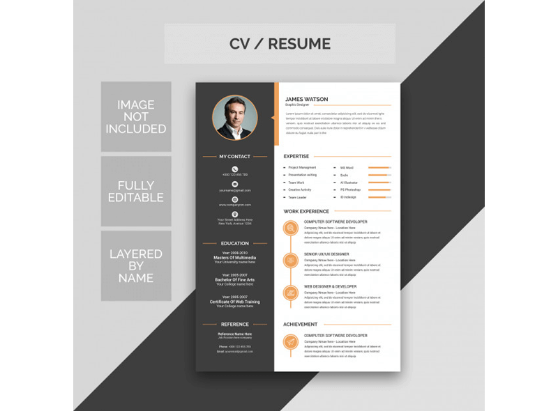 Resume for Editor and Content Creator 19
