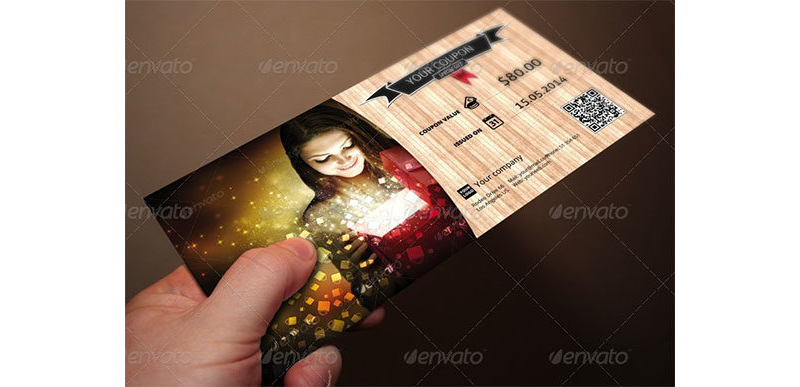 Gift Coupon Template 06