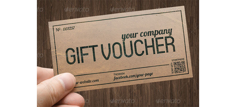 Gift Coupon Template 08
