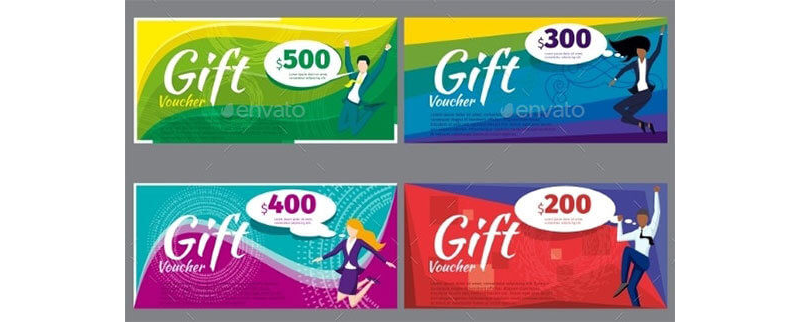 Gift Coupon Template 09