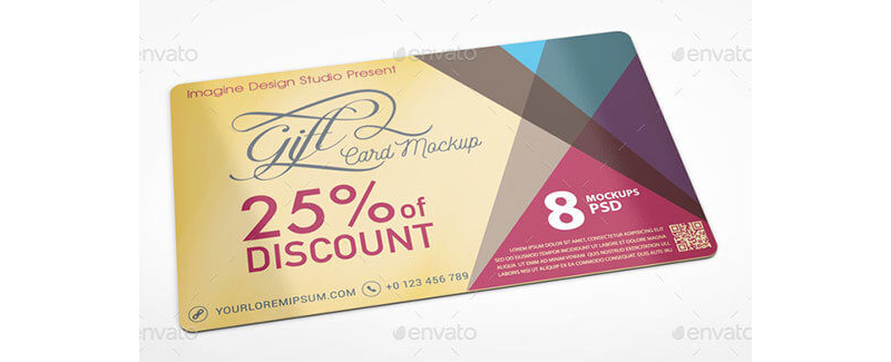 Gift Coupon Template 10