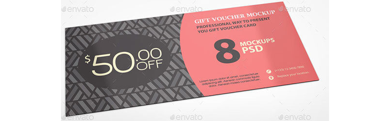 Gift Coupon Template 11