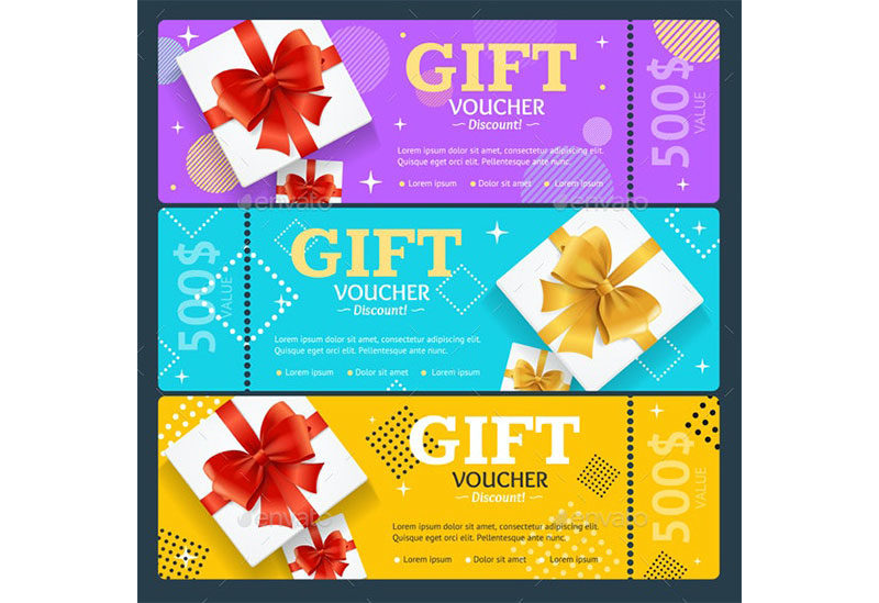 Gift Coupon Template 12
