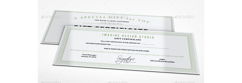 Gift Coupon Template 13