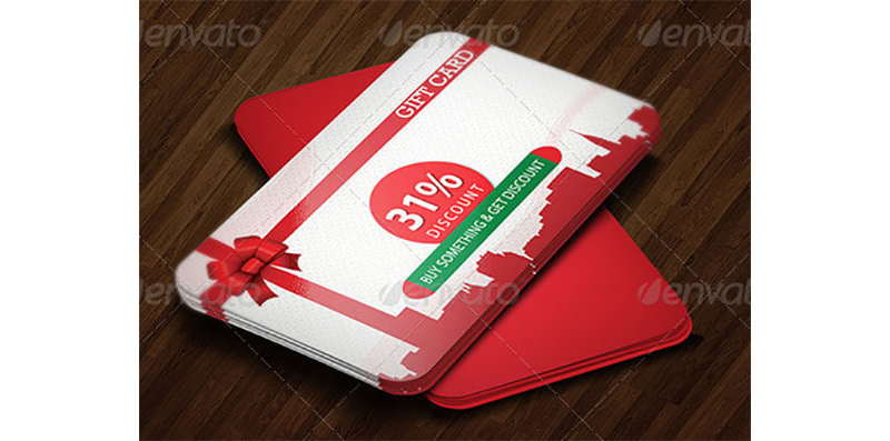 Gift Coupon Template 18
