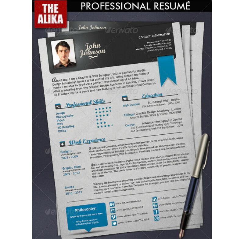 Insurance Resume Template 11