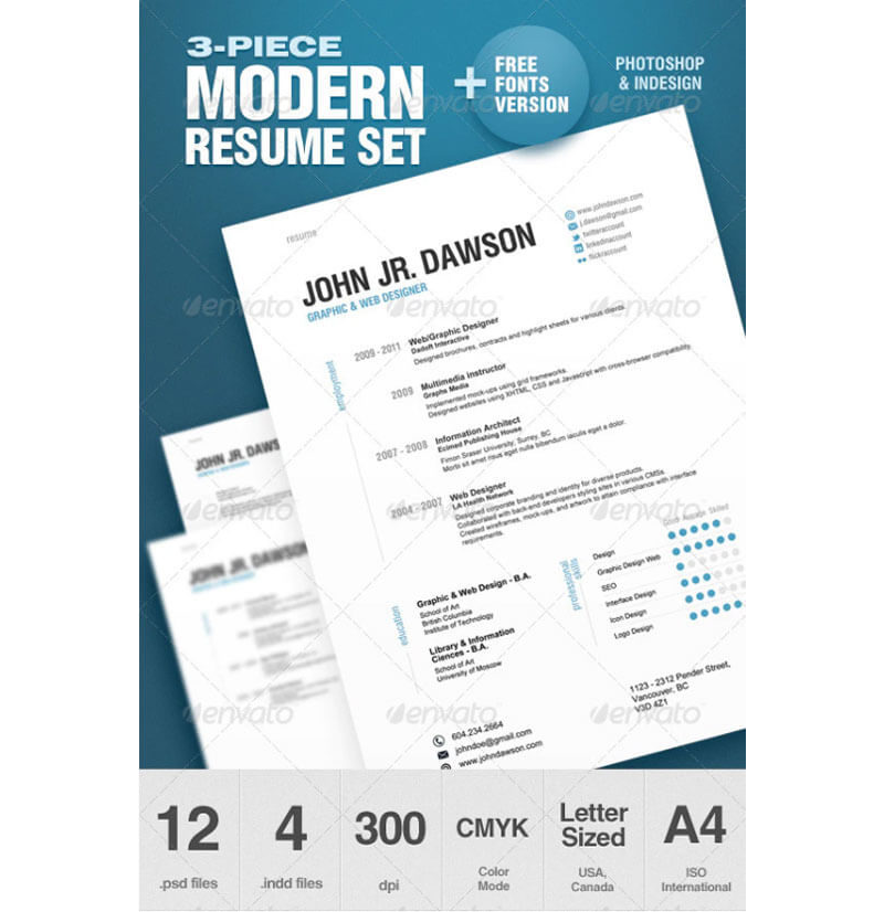 Agricultural CV and Resume Templates 23