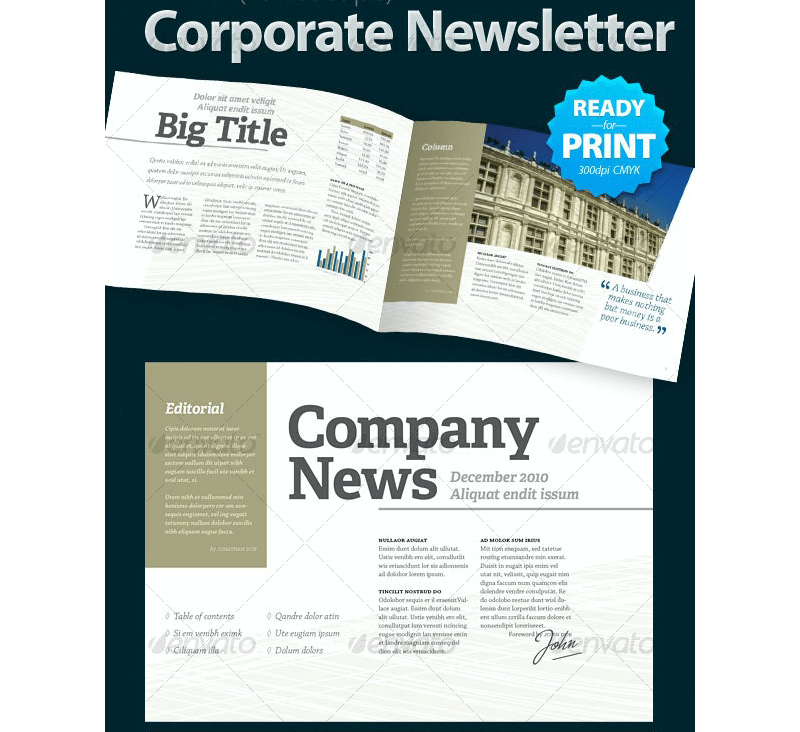 5-in-1 Email Newsletter Templates