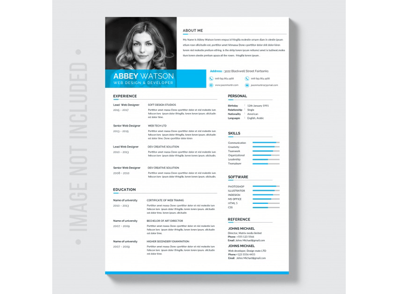 Clean Security Officer Resume Template