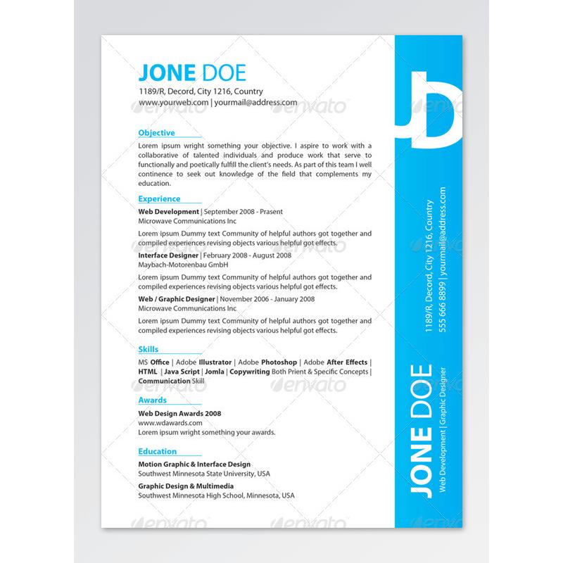 CV for Hospitality Administration Jobs 09