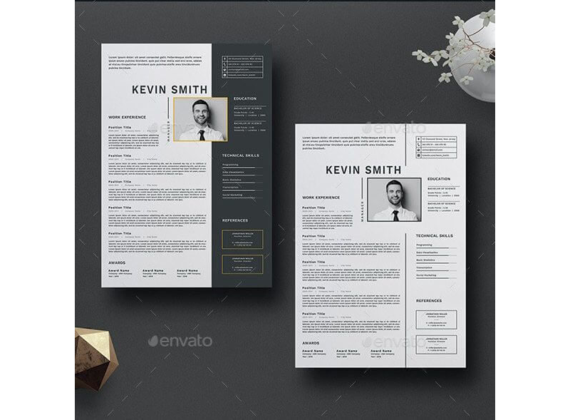 CV Template for Educational Jobs 06