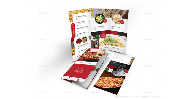 Italian Restaurant Menu Templates 14
