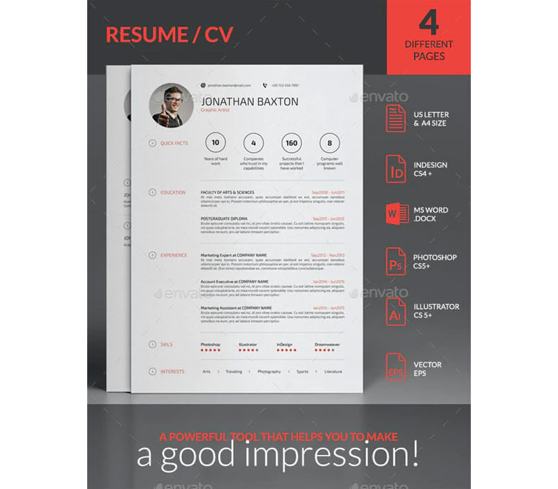 CV Examples for Social Worker Jobs 05