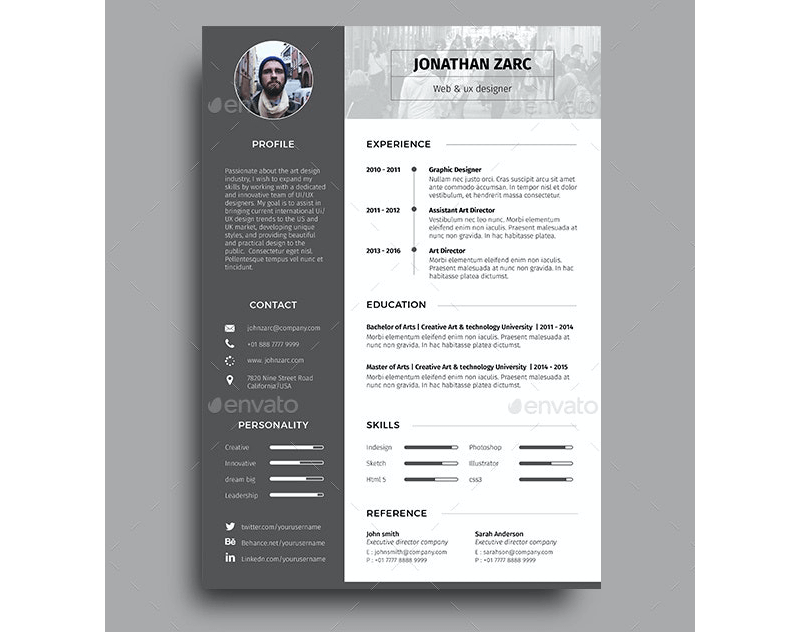 Functional Security Service Resume Template