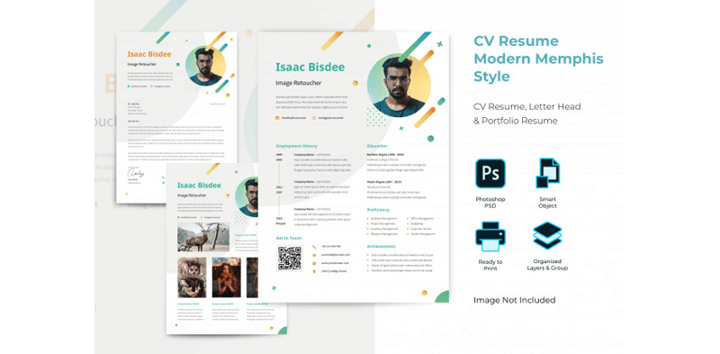 CV Template for Educational Jobs 13