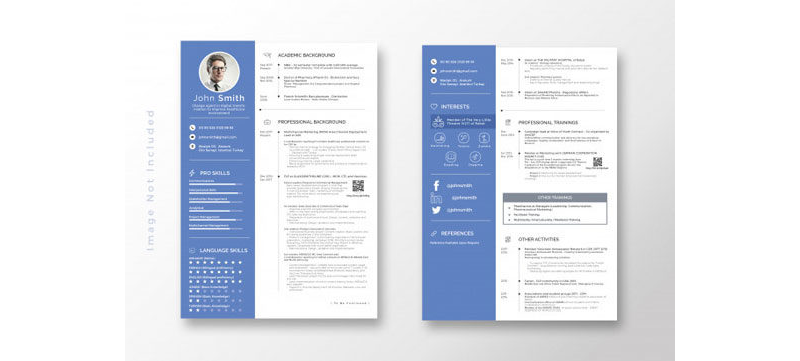Agricultural CV and Resume Templates 30