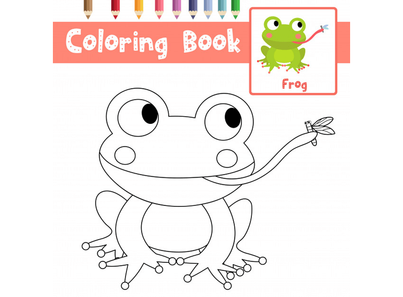 Coloring Book Template 20