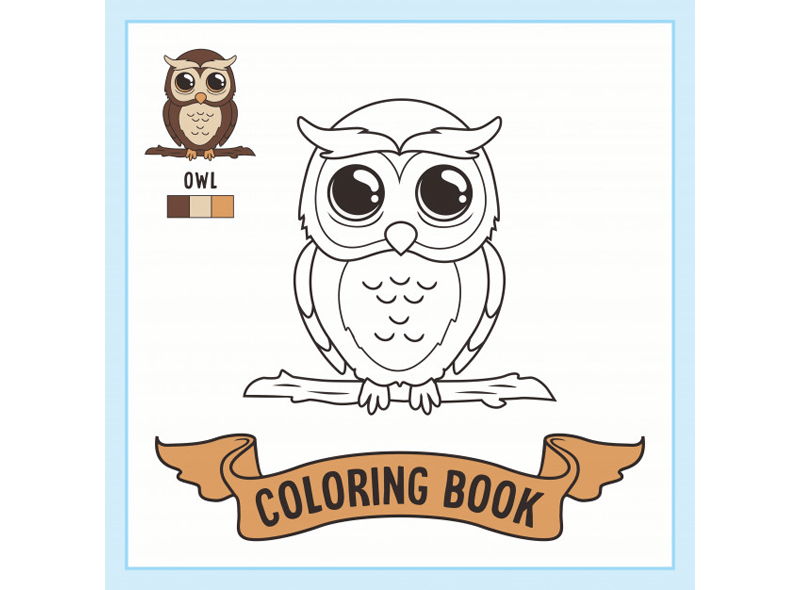 Coloring Book Template 21