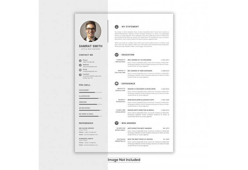 CV Examples for Architecture Job 10